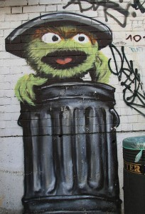 Oscar the Grouch by Noodlefish, from Flickr