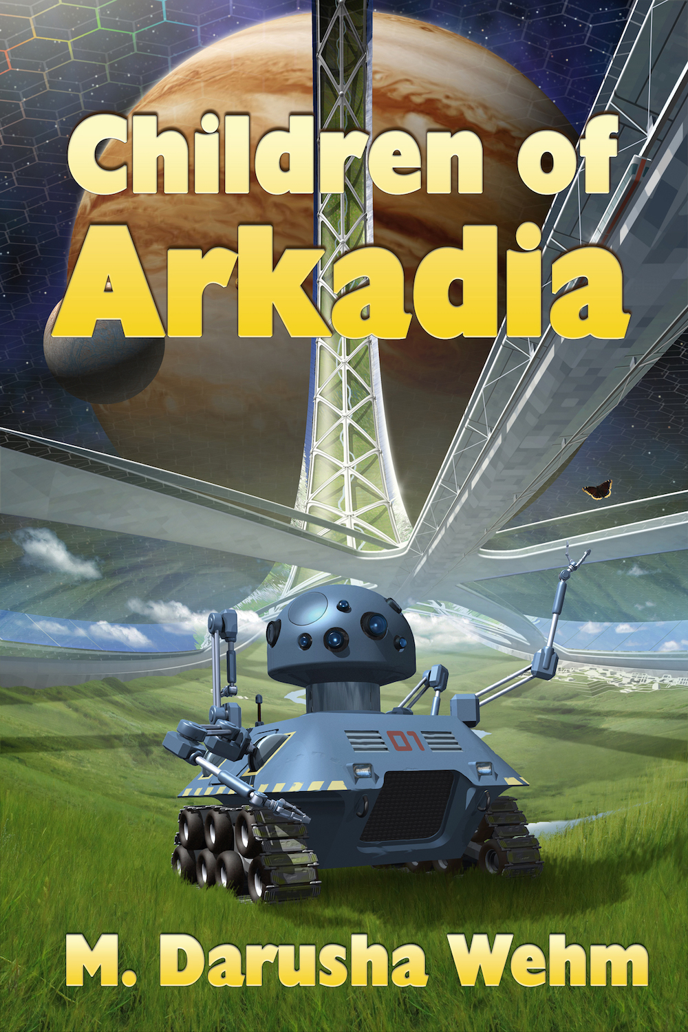 Children of Arkadia Cover Reveal!
