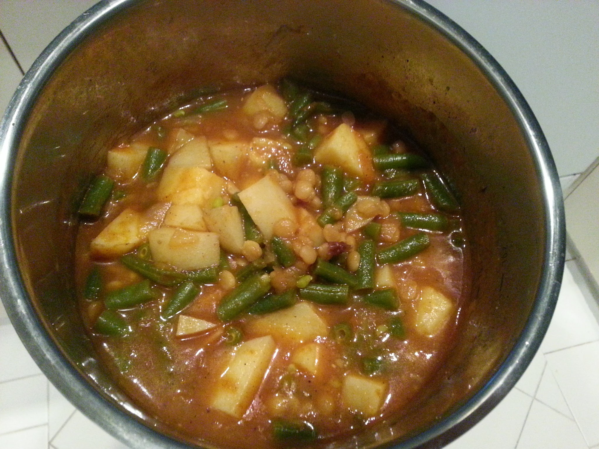 Recipes of Arkadia: Betsy Rhys-Jones's Spicy Vegetable Stew