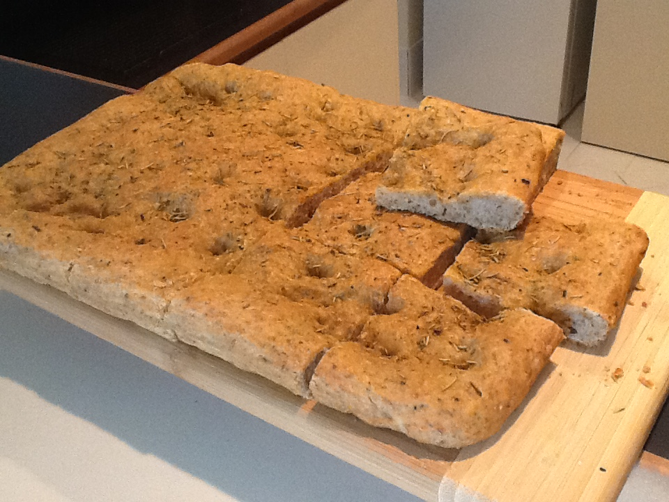 Recipes of Arkadia: Chen's Herb Bread