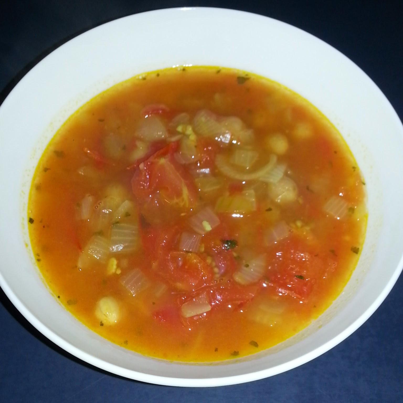 Recipes of Arkadia: Slava's Moroccan Chick Pea Soup